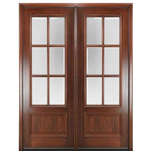 Dd86l 2 Wood Front Entry Doors Double Doors Exterior Entry Doors