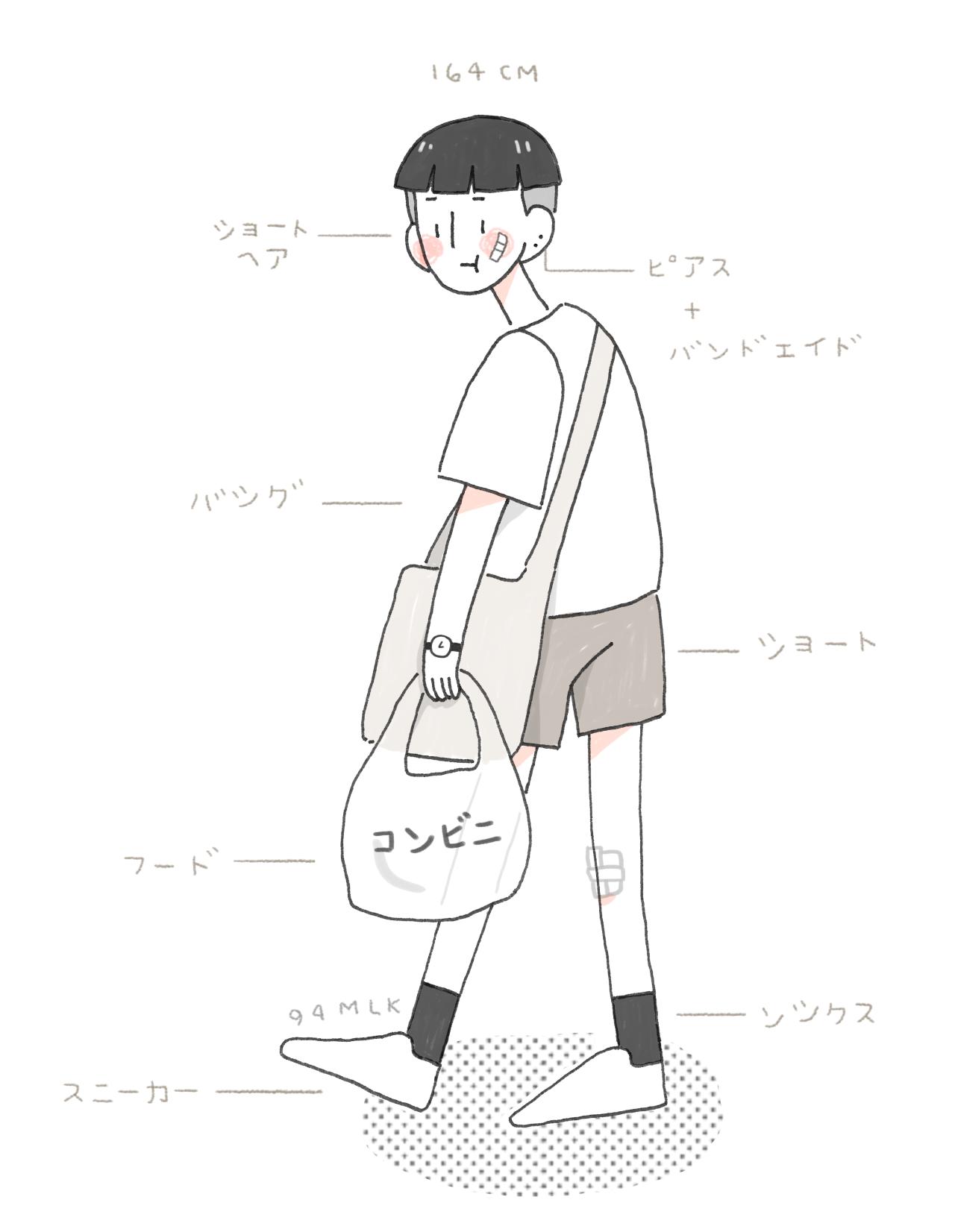 Aesthetic Asian Girl Drawing