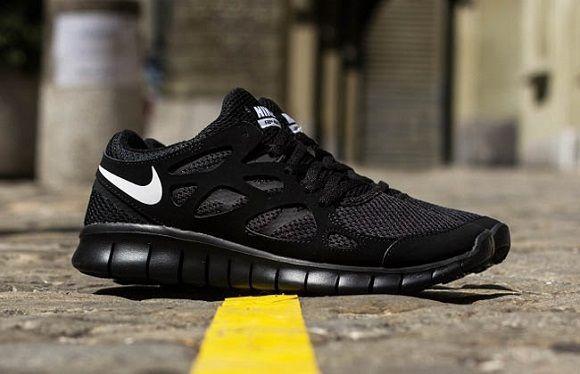 buy popular 37d75 86da9  Nike Free Run 2 NSW – Black White