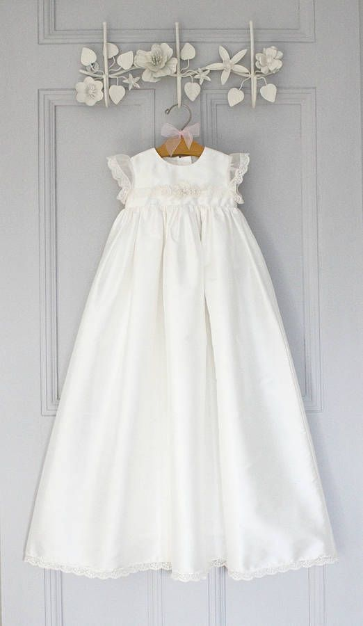 Christening Gown \'Sophia\' | Christening gowns, Gowns and Christening