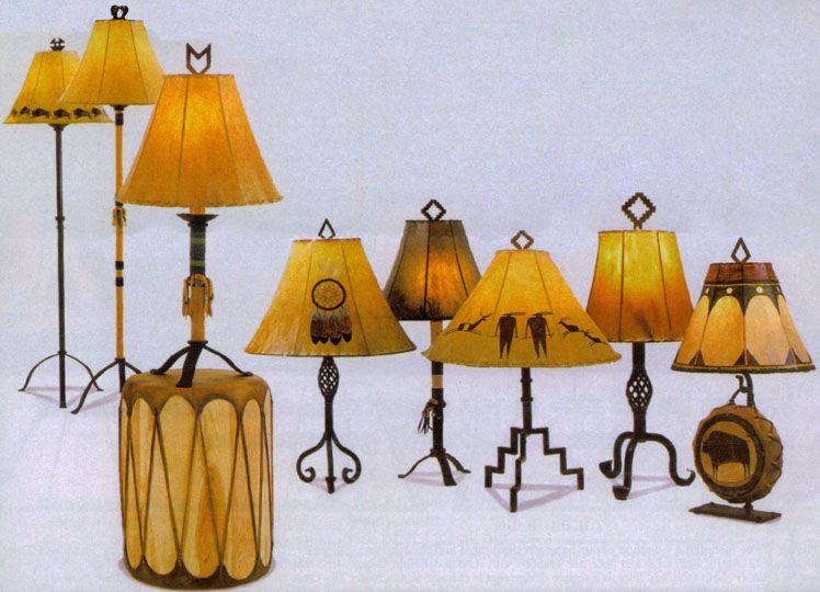 native american lamps new home decor pinterest native