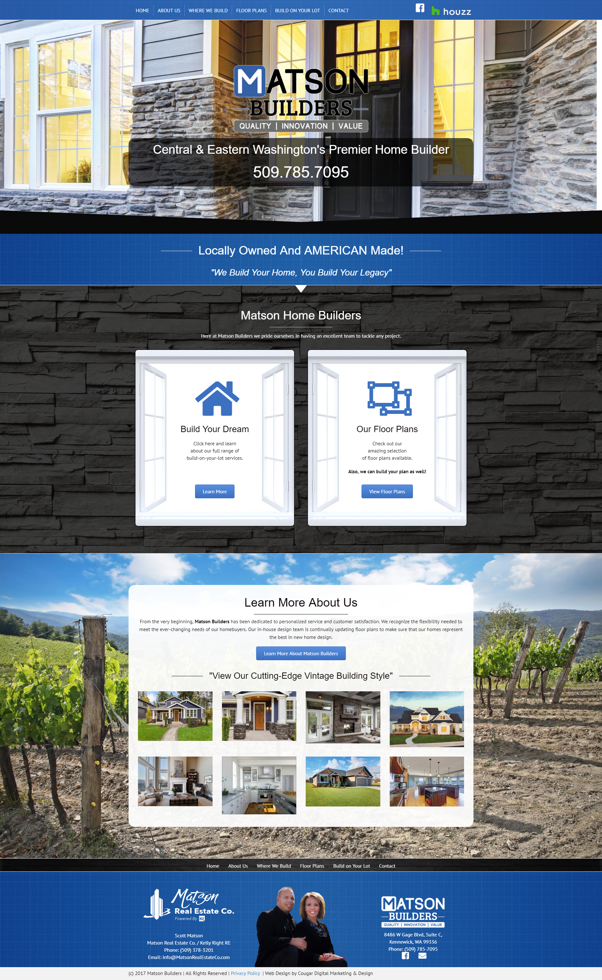 Construction Website Design Portfolio Web Design Digital Marketing Design Portfolio Design