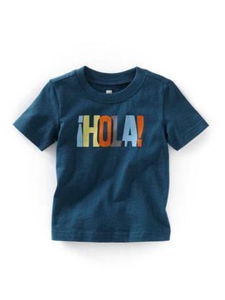 Tea Collection - Hola! *This would be cute for Jr!*