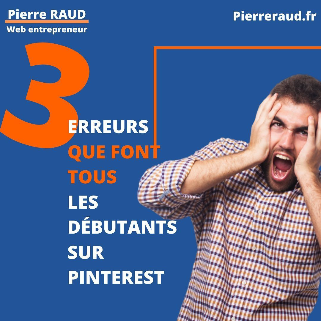 As tu fait une de ces trois erreurs sur Pinterest ? . Dit le moi en commentaire .  #entrepreneures #microentreprise #ambition #quotidienfreelance #independante #succes #entreprendreautrement #blogueuses #frenchinfluencer #reussite #frenchentrepreneur #blogueusefrancaise #qlrr #entreprendre #networkeuse #coachenimage #blogueur #youtubeur #blogeusemode #instagrameuse #motivationpourtous #bloggeusemode #investisseur #entrepreneusescreatives #frenchblog #frenchblogger #reussite #infopreneur