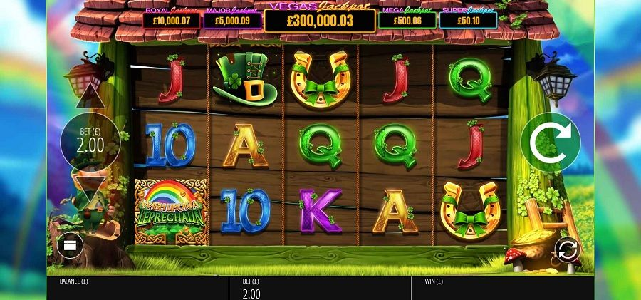 Wish Upon A Leprechaun Slot Machine