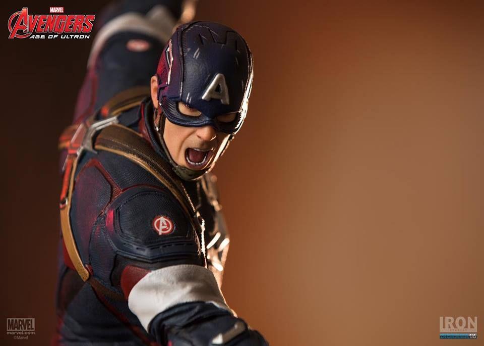 Capitão América Iron Studios