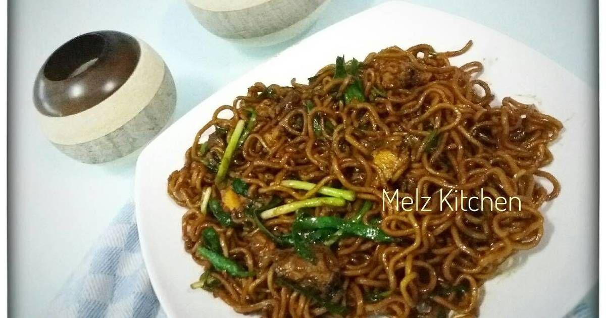 Resep Mie Goreng Manis Tiam Mi Oleh Melz Kitchen Resep Masakan Wajan Jamur