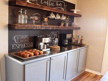 20 id es d co rustiques pour habiller une cuisine moderne - Habiller une hotte de cuisine ...