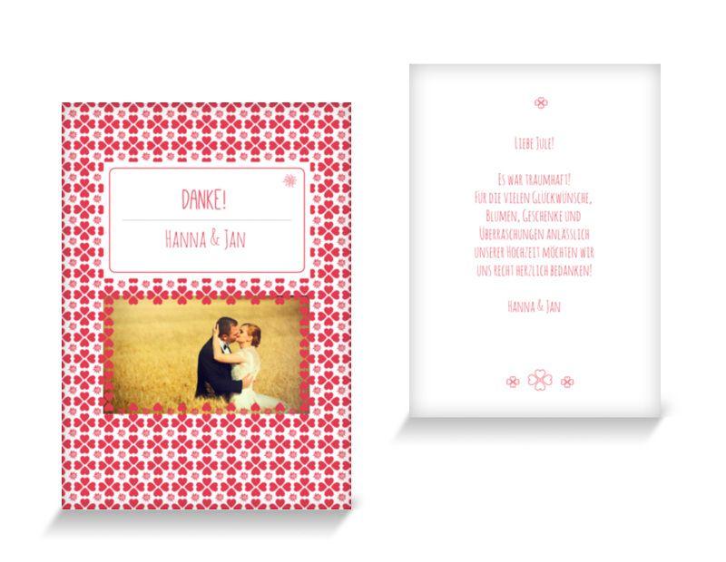 Dankeskarten Edelweiß Dankeskarten Hochzeit