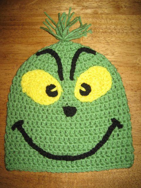 Dr. Seuss\' How The Grinch Stole Christmas crochet hat. $23.99, via ...