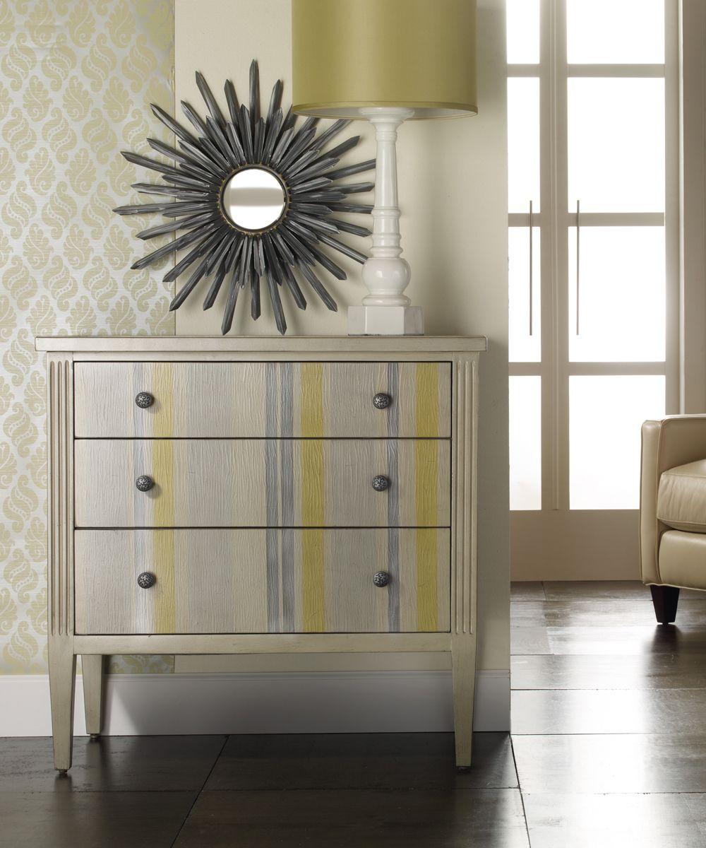 Shimmer u stripes chest tomsprice home furnishings mélange