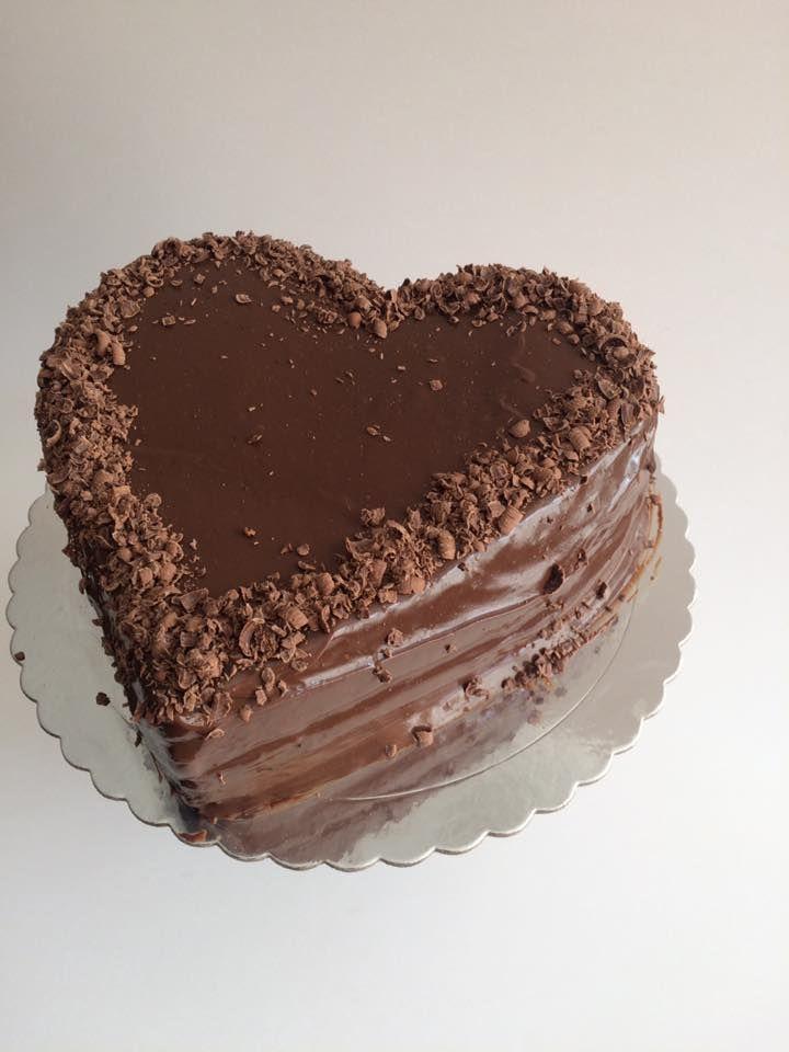 Torta De Chocolate En Forma De Corazón Baking Valentine Cake Cake