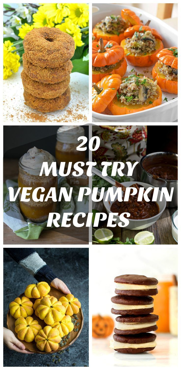 20 Must Try Vegan Pumpkin Recipes How To Make Pumpkin