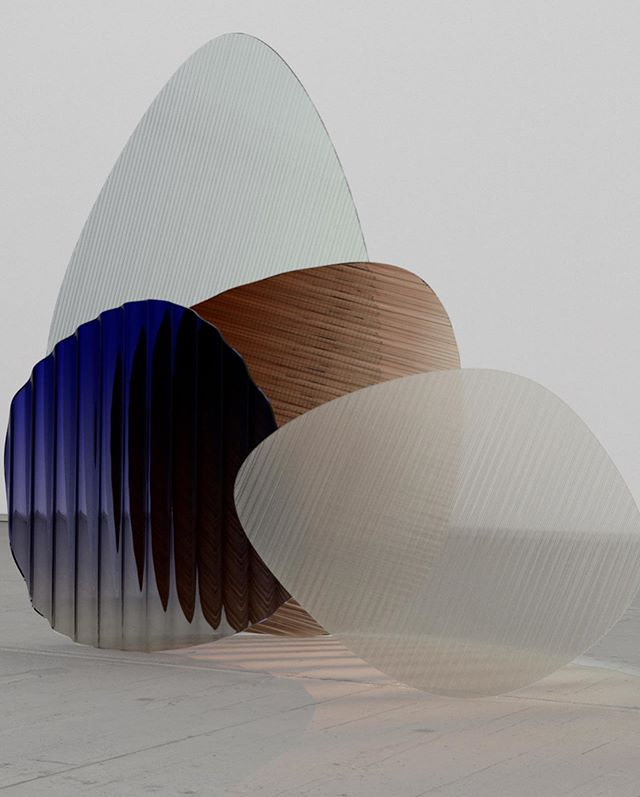 Shapes And Refractions.#design #glass #objects #interior