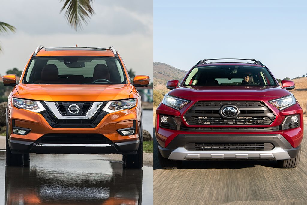 2019 Nissan Rogue vs. 2019 Toyota RAV4 Which Is Better
