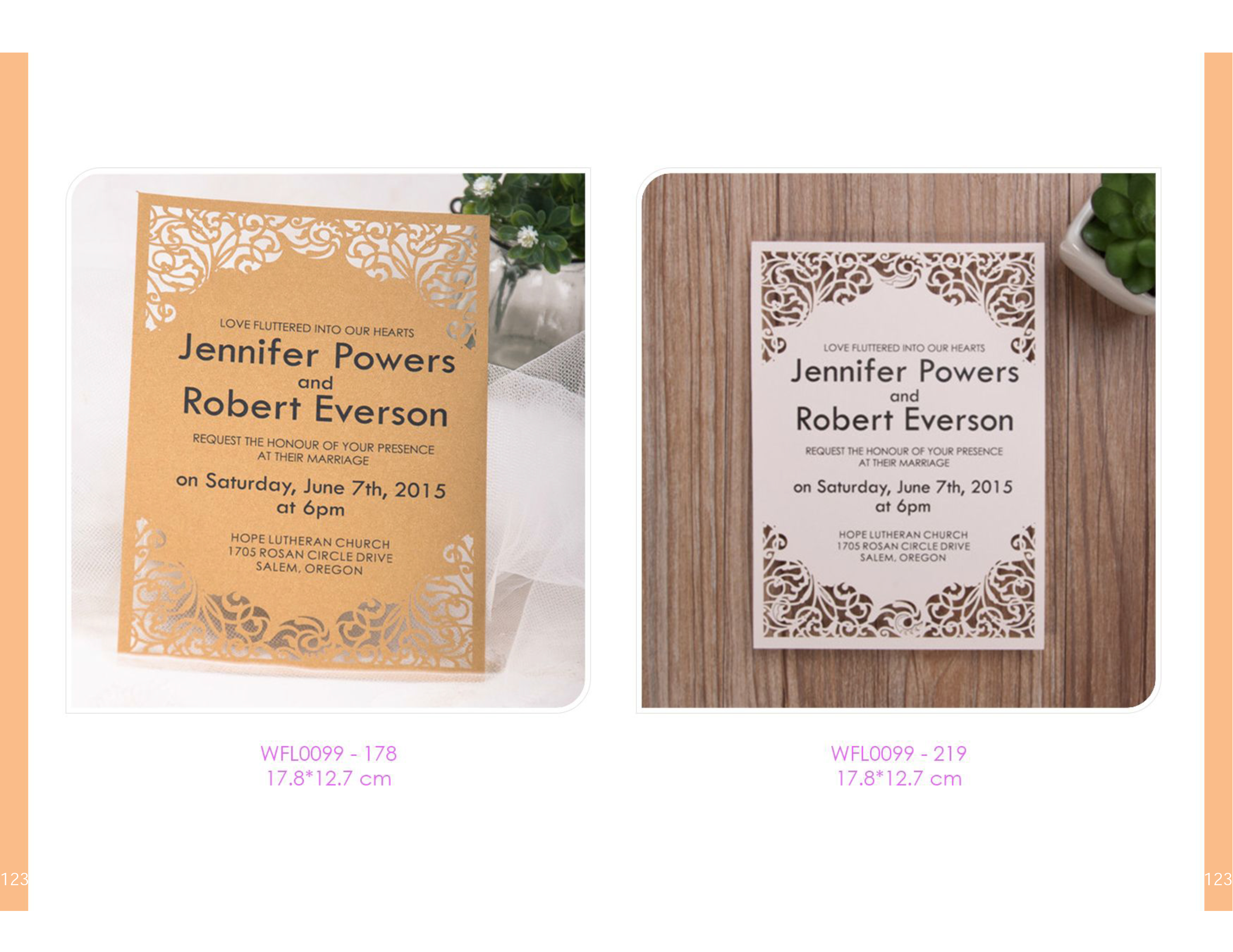 Scrolls Laser Cut Invitations Designed For Your Special Day 2 95