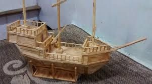 Resultado De Imagen Para Como Fazer Um Barco De Palito De Picole