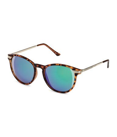 f60ba78cb58fb H&M Sunglasses $7.95 Sunglasses with tortoiseshell-patterned plastic ...