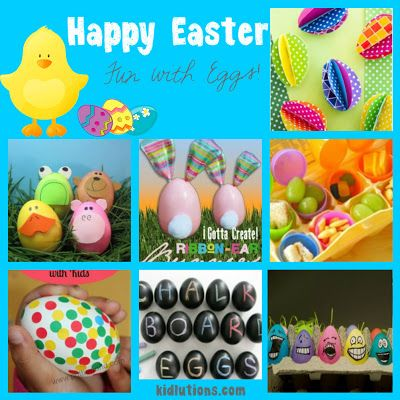 Fun with Eggs!  Whether they're the real deal, plastic or paper, we've found some great ideas for Easter!  Even some for feelings and emotions!  Happy Easter, everyone! ~Wendy @Kidlutions