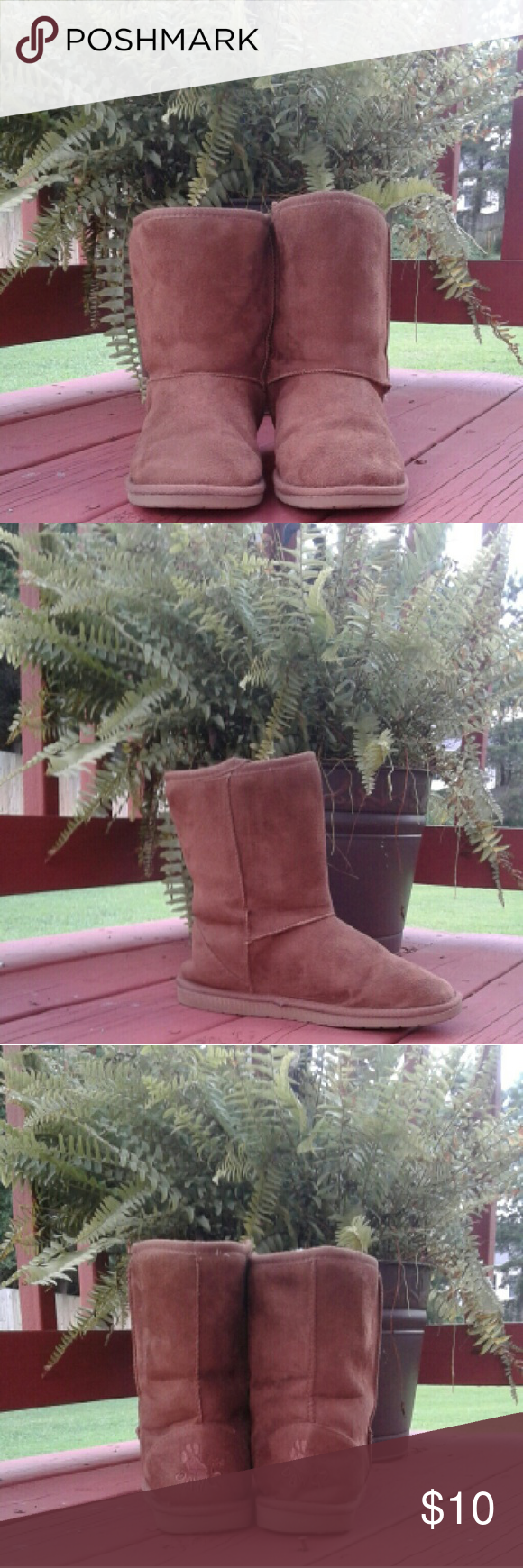 Brown DAWGS Comfortable Boots Women's DAWGS Boots... in great condition...rubber sole in excellent condition...❌PRICED TO SALE ❌ Dawgs Shoes Ankle Boots & Booties