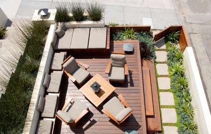 Luxury Contemporary Deck Design