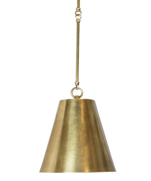 Taylor tapered pendant brass will accept up to 250 watt bulb featuring a cast brass canopy solid brass chain fixture measures drop from cei