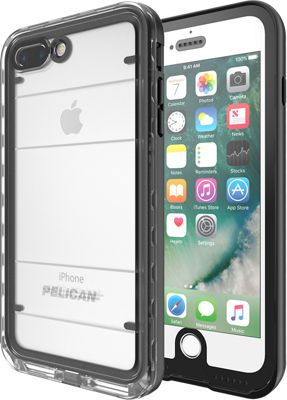 brand new 887cf 9bad6 Pelican Marine Case for iPhone 7 Plus, Black/Clear | Products ...