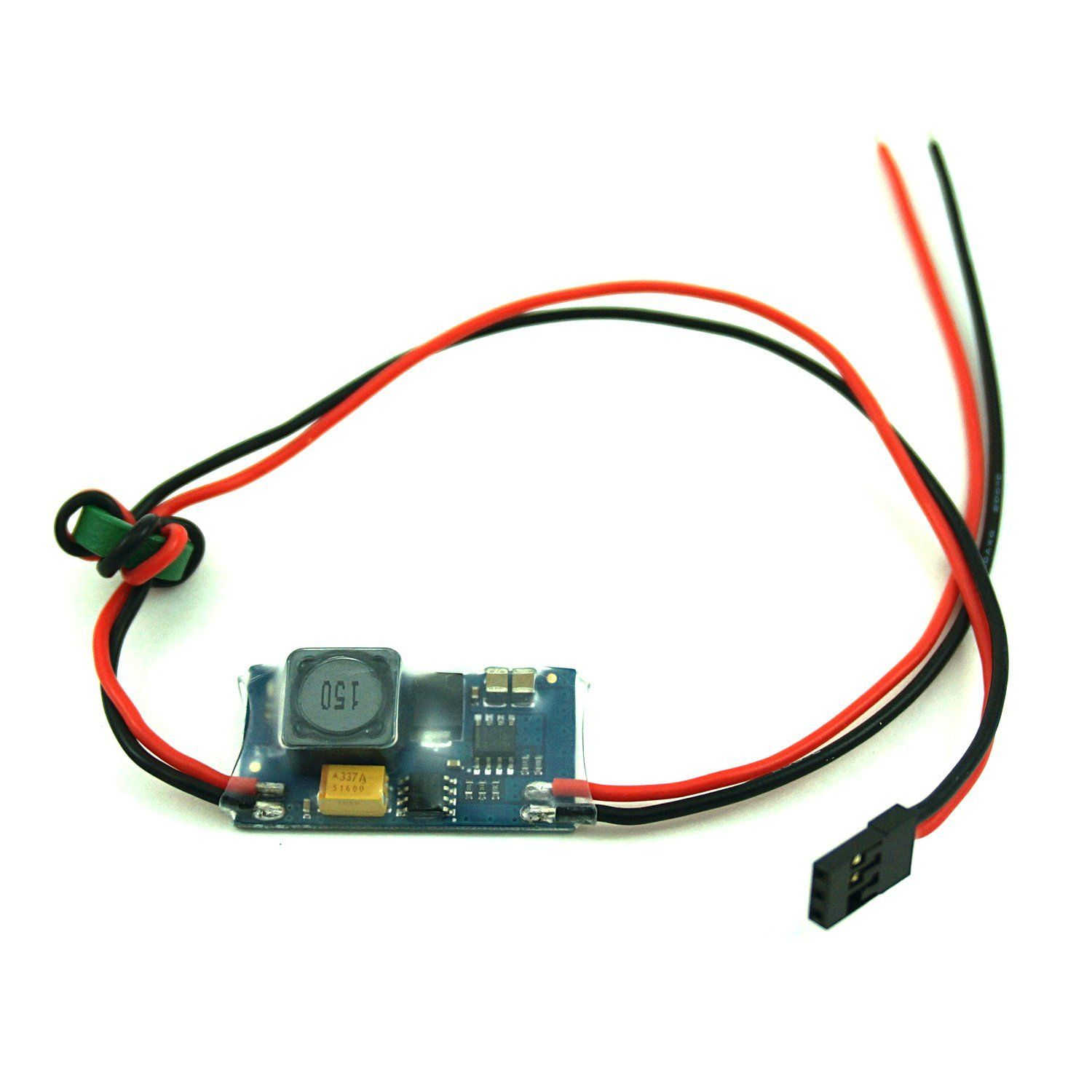 fpvfocus bec sbec ubec 5v 5a 5 volt 2s 8s lipo switching regulator for fpv equipment and systems [ 1500 x 1500 Pixel ]
