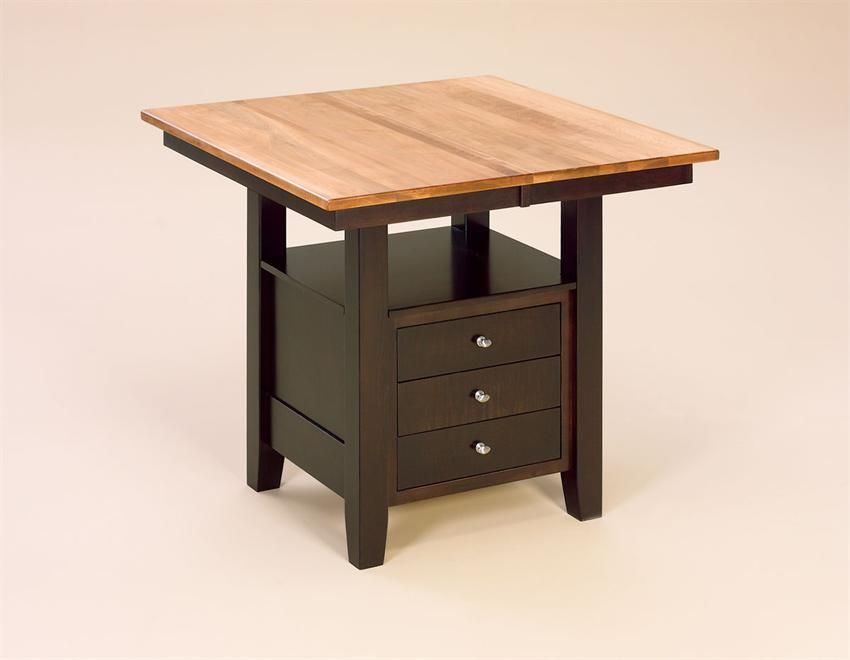 Camden Amish Kitchen Table With Storage Drawers