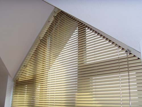 Window Coverings For Triangle Windows Shaped Blinds By Avanti