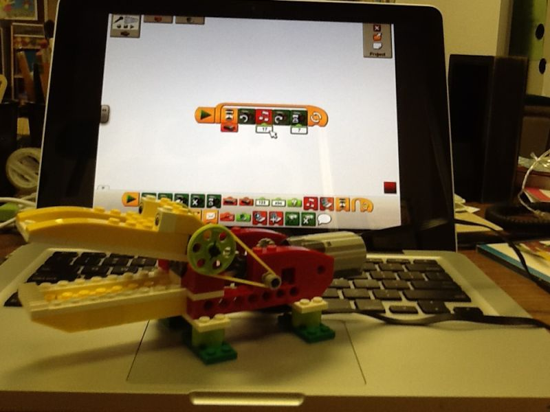 STEM for 2nd Graders: LEGO WeDo Kit. One kit and the software ...