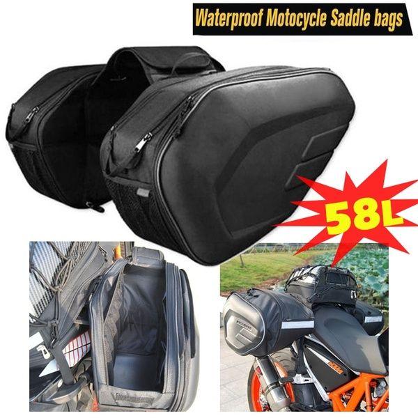 saddle Bag Covers Waterproof Panniers Motorcycle Motorbike Luggage