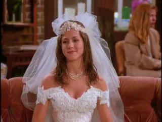 Rachel Greene Jennifer Aniston Wedding Dress Jennifer Aniston