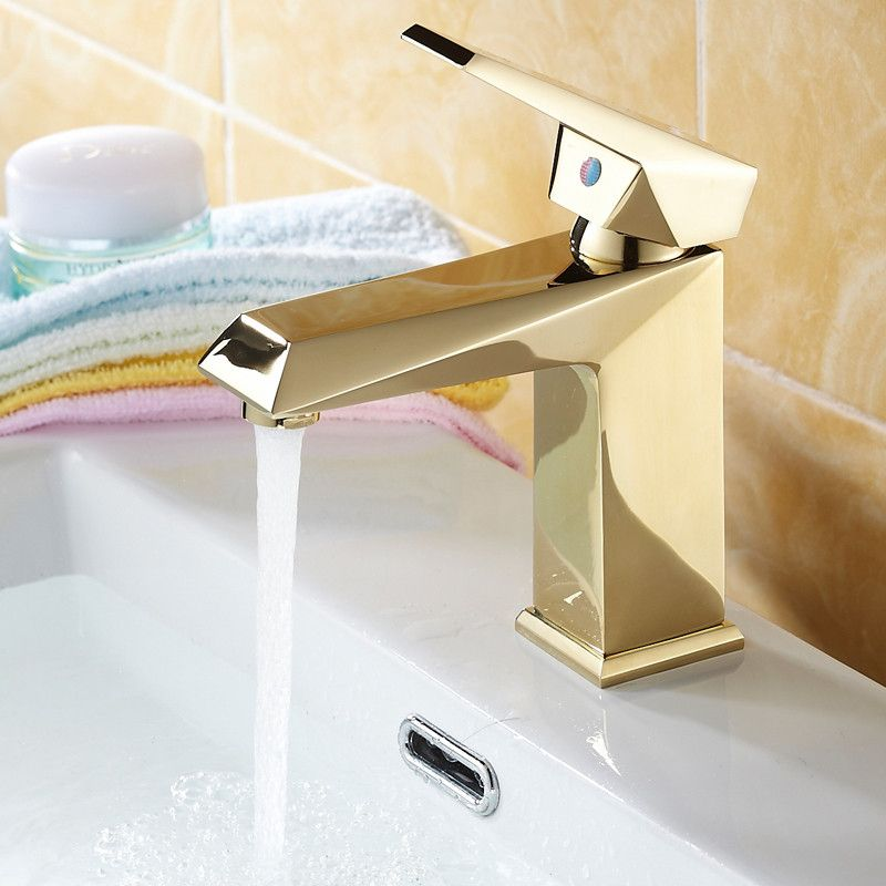 Antique Bathroom Faucet Gold Polish Kitchen Faucet European Full ...