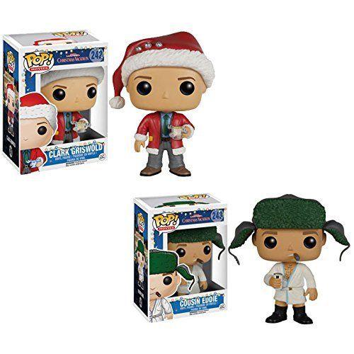 funko pop movies christmas vacation clark toy cousin eddie figures set of 2