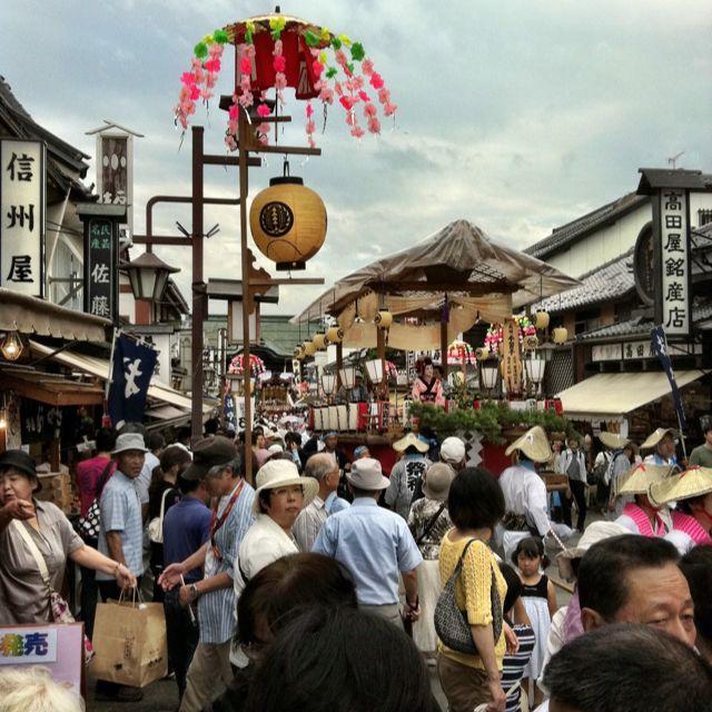 長野祇園祭にて!