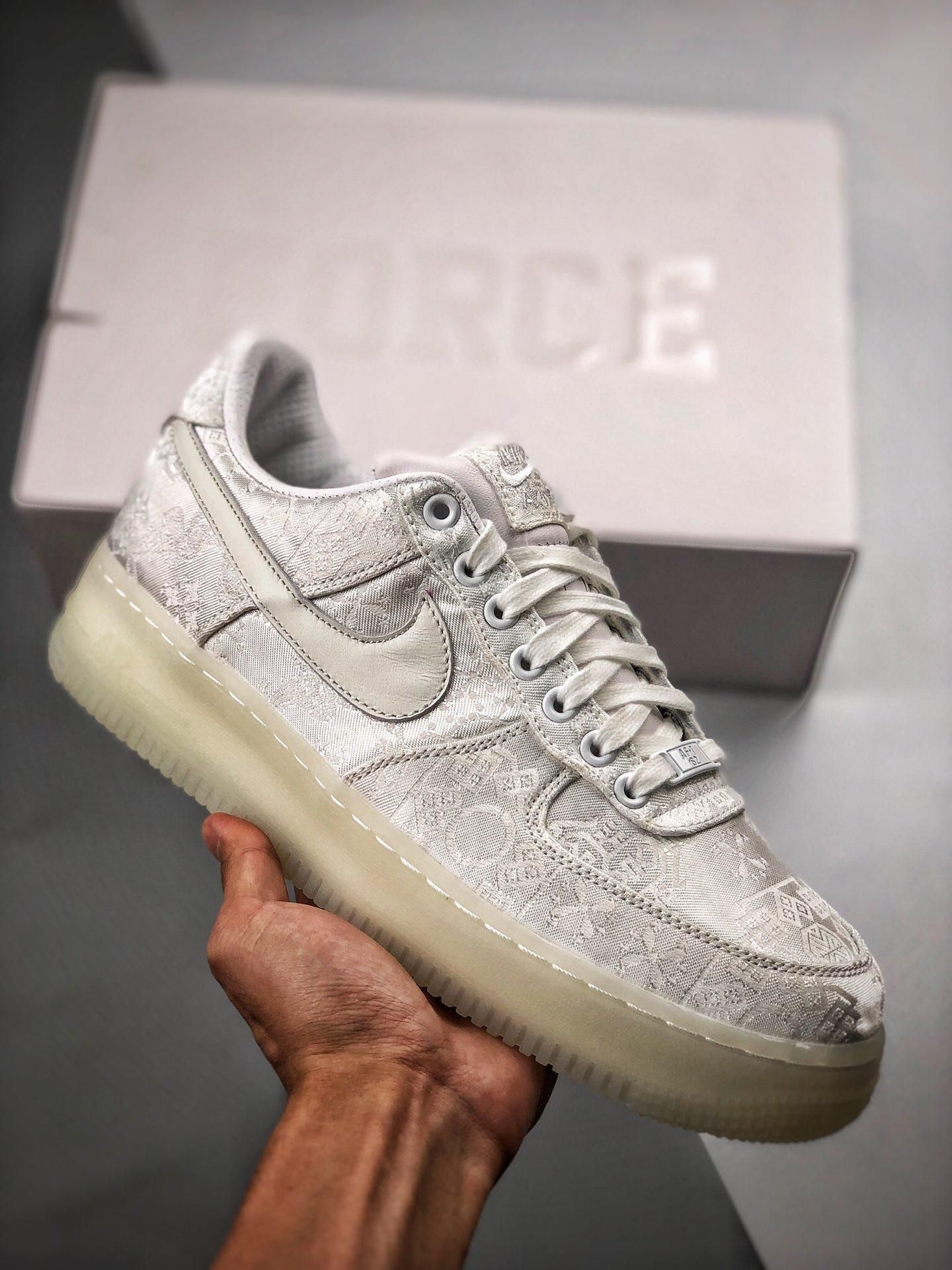 Clot x Nike Air Force 1 Premium AO9286 100
