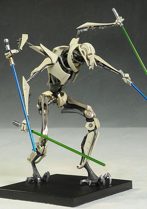 Star Wars General Grievous Artfx Statue Star Wars Ships Star Wars Models Star Wars Artwork