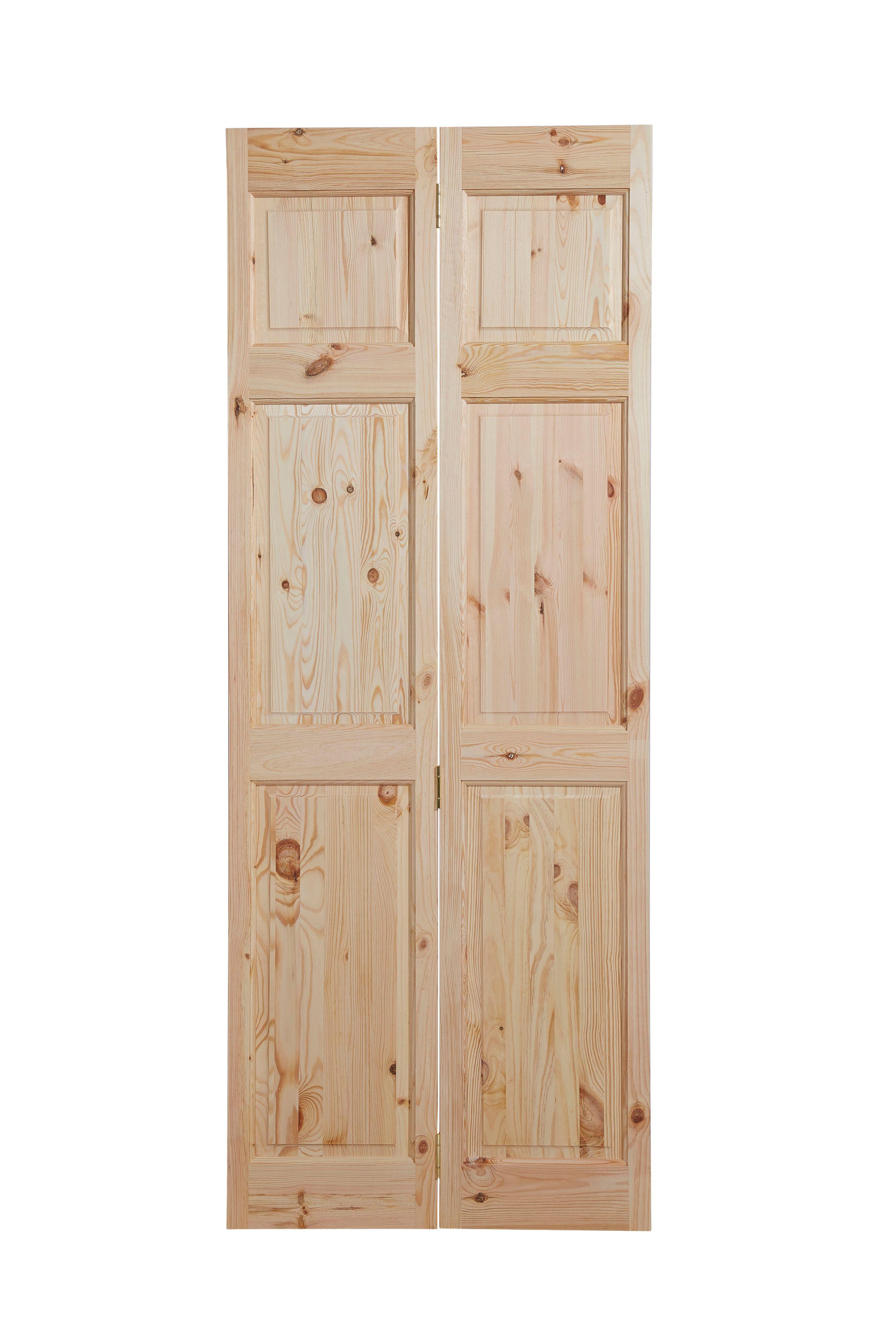 6 Panel Knotty Pine Internal BiFold Door £48 Bifold doors