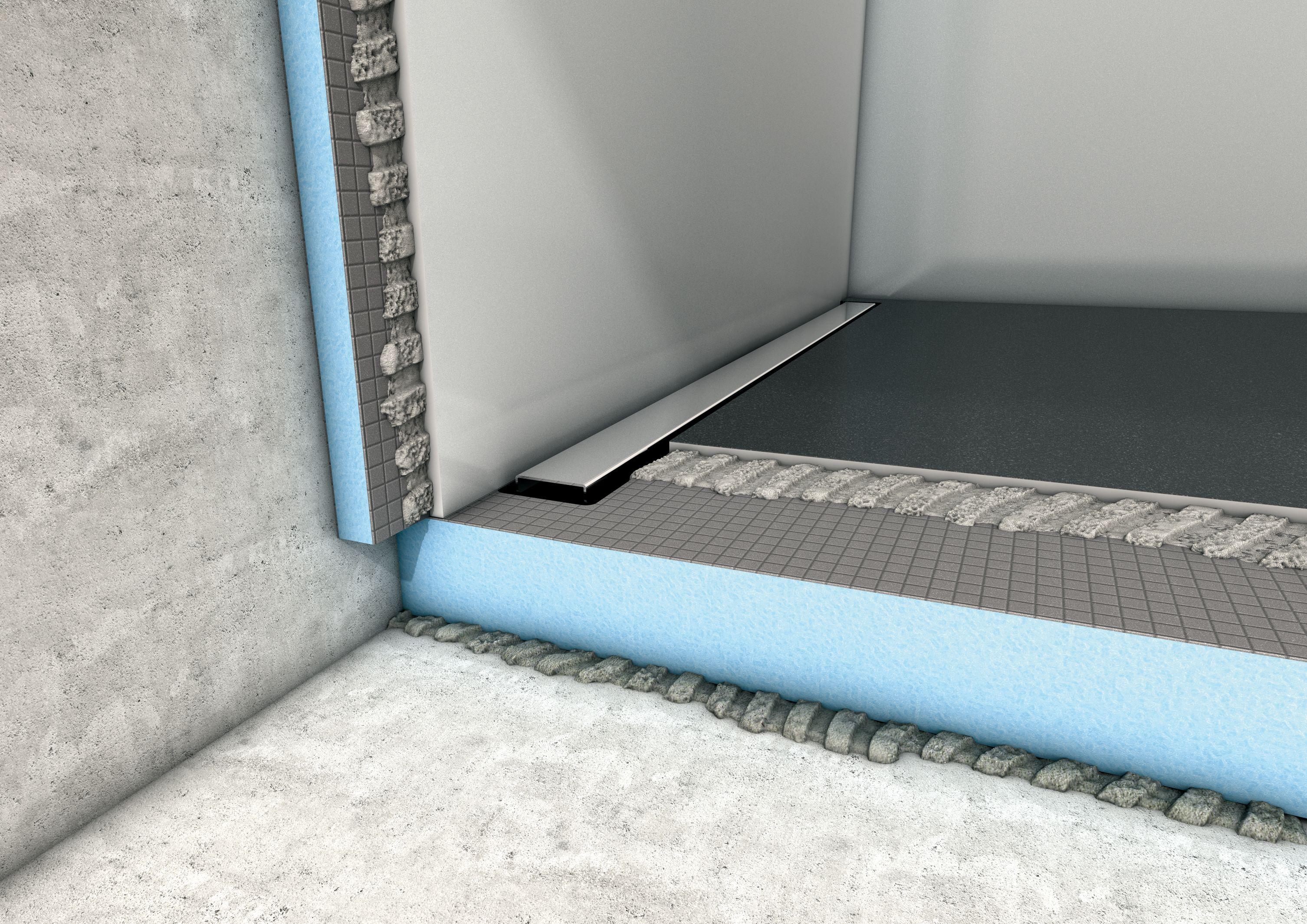 The Wedi 100 Waterproofed System With 10 Years Warranty Dusche Einbauen Dusche Ebenerdige Dusche