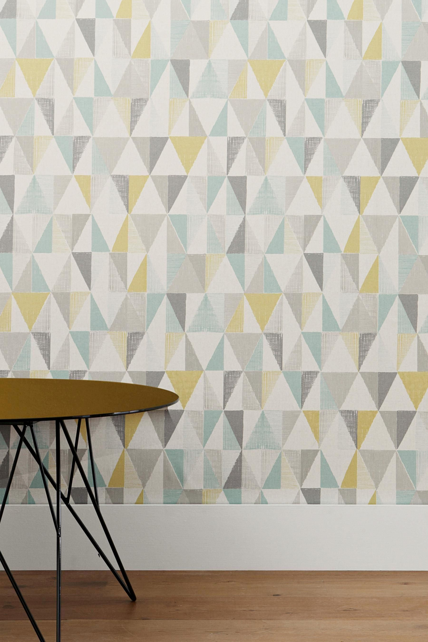 Affordable and stylish wallpaper from Next | Geo, Triangle and Wallpaper