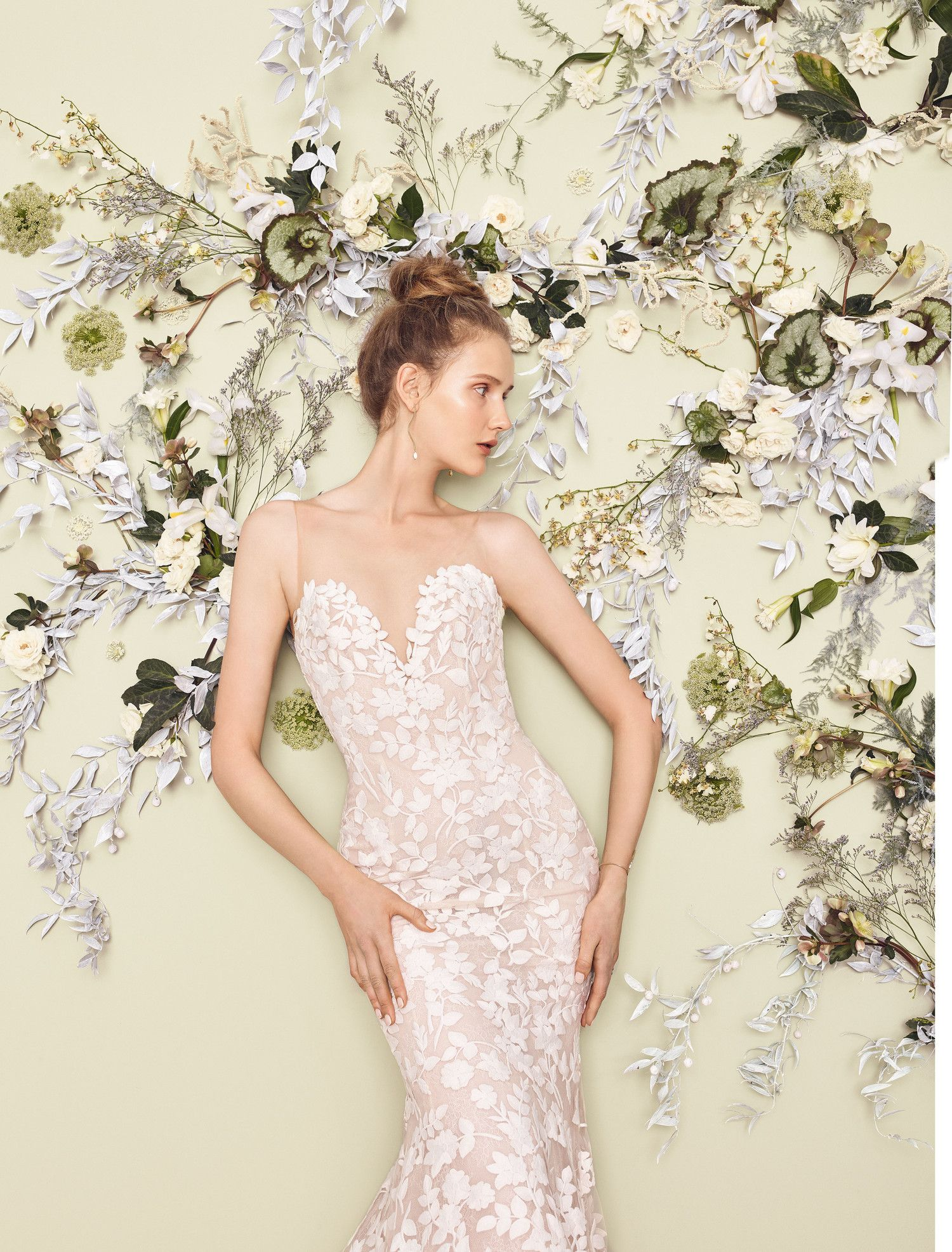 Wedding Dresses Inspired By Flowers Rosa Clara Wedding Dresses
