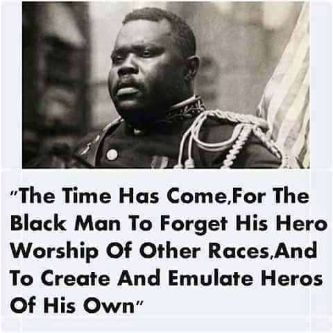 Marcus Garvey quote about hero worship. | Marcus garvey ...