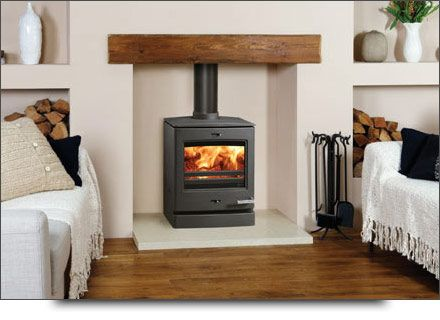 CP Wood Burning Stoves, Yeoman Exe with lighting and brick slip effect | Wood  stoves | Pinterest | Wood burning, Stove and Bricks - CP Wood Burning Stoves, Yeoman Exe With Lighting And Brick Slip