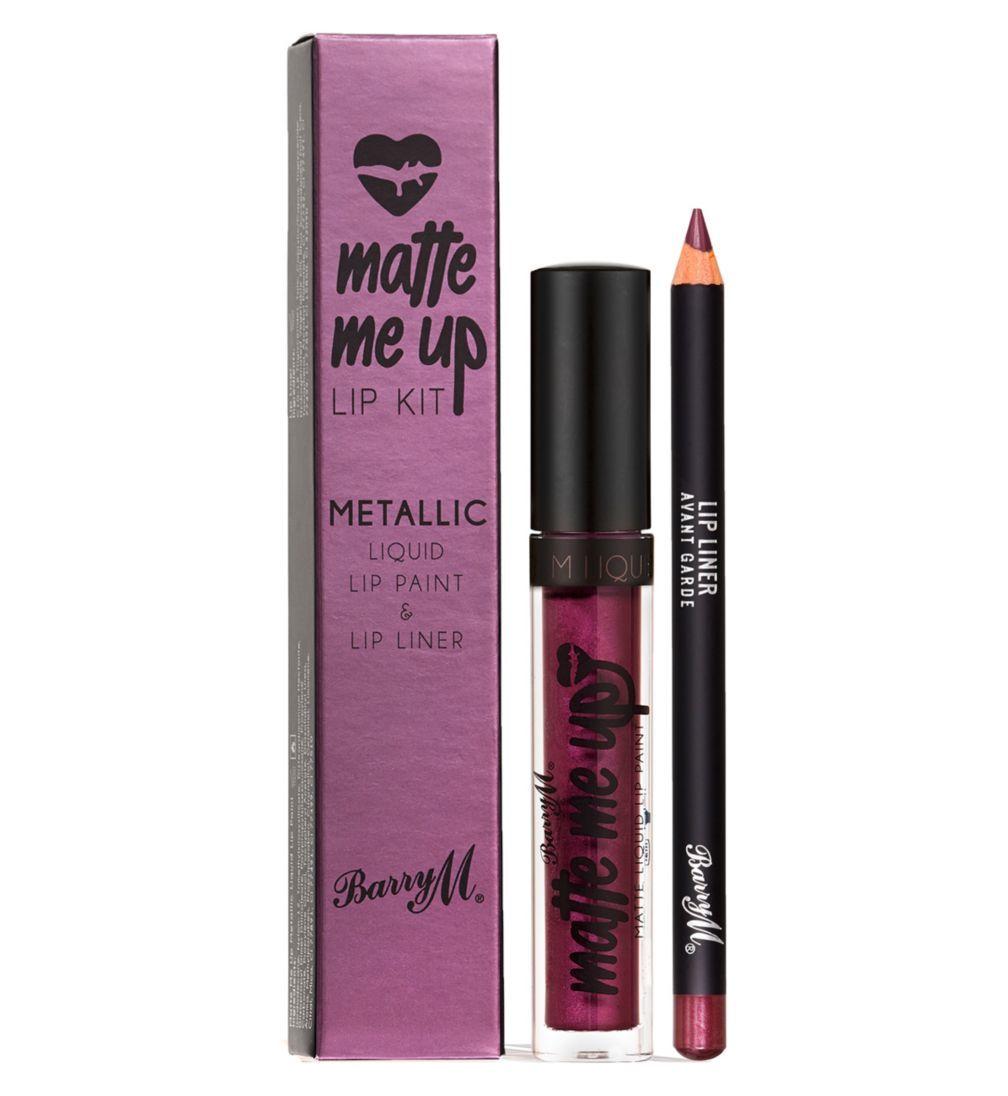 Barry M Matte Me Up Lip Kit - Blowout - Colour Zone Cosmetics