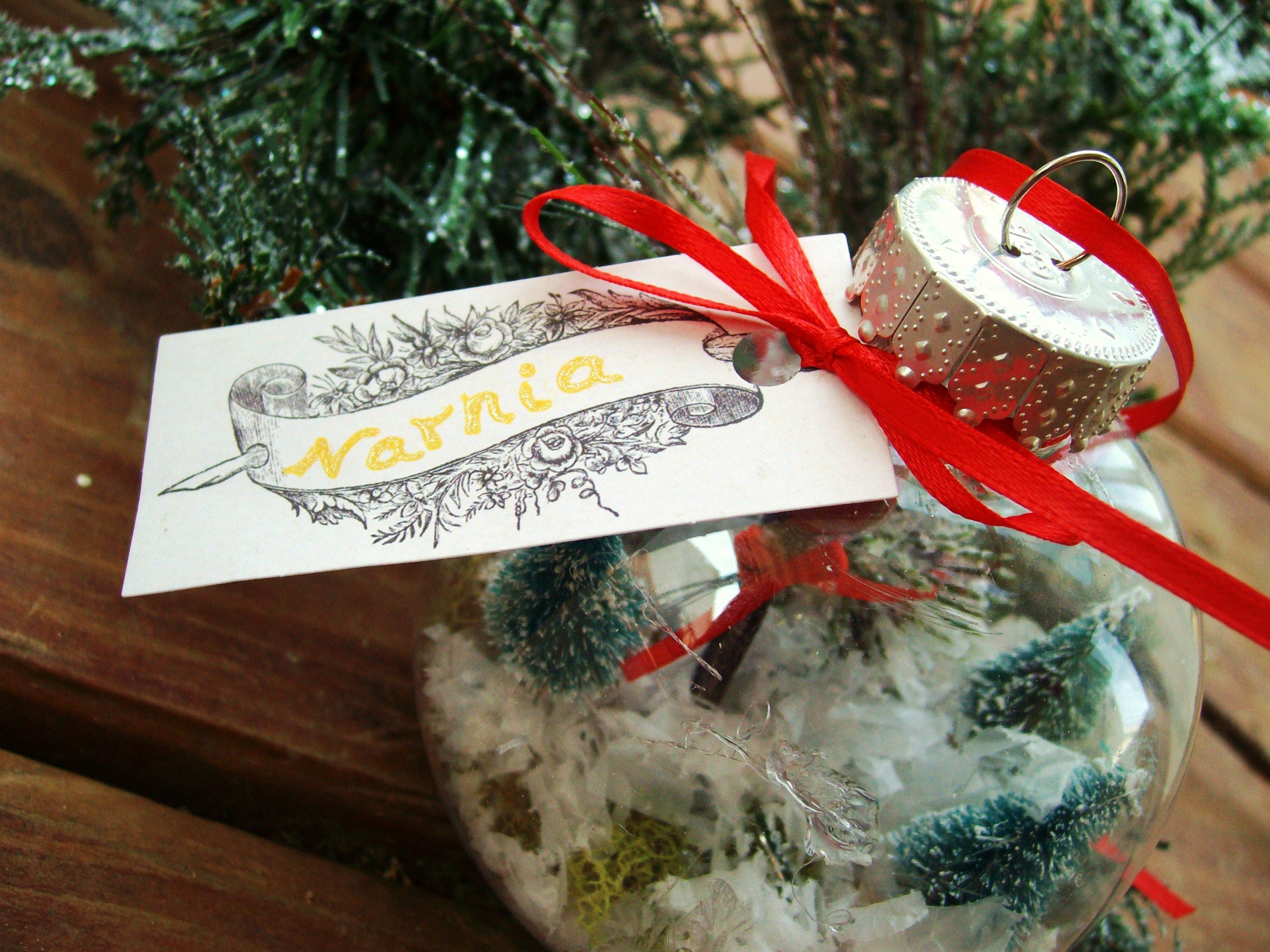 Terrarium Christmas Ornaments DIY Crafting Tutorial