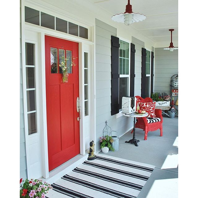 Positive Red Paint Color Sw 6871 By Sherwin Williams View