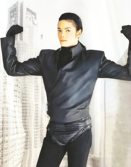 Michael Jackson explaining that when you don't work out, you don't have muscles.
