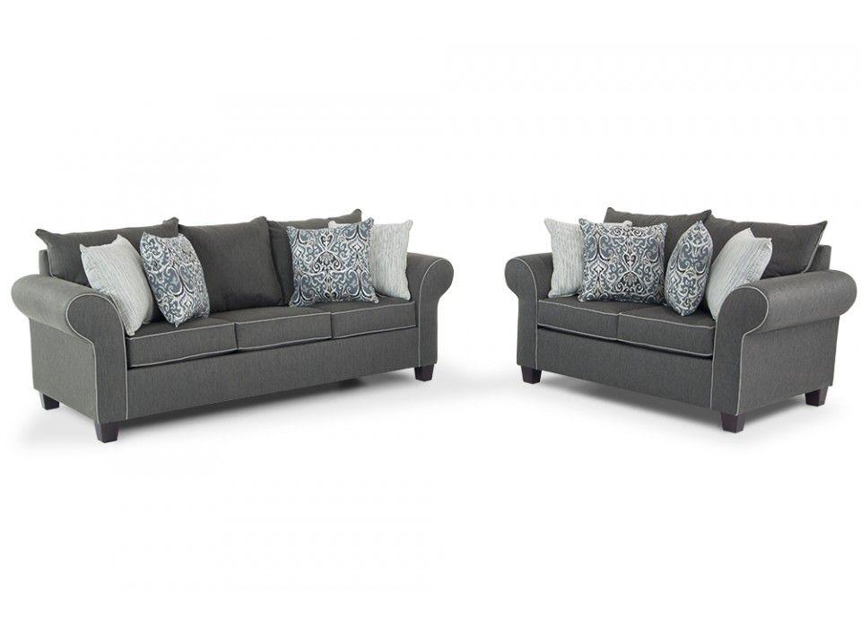 Ashton Sofa Loveseat Bobs Furniture Living Room Discount