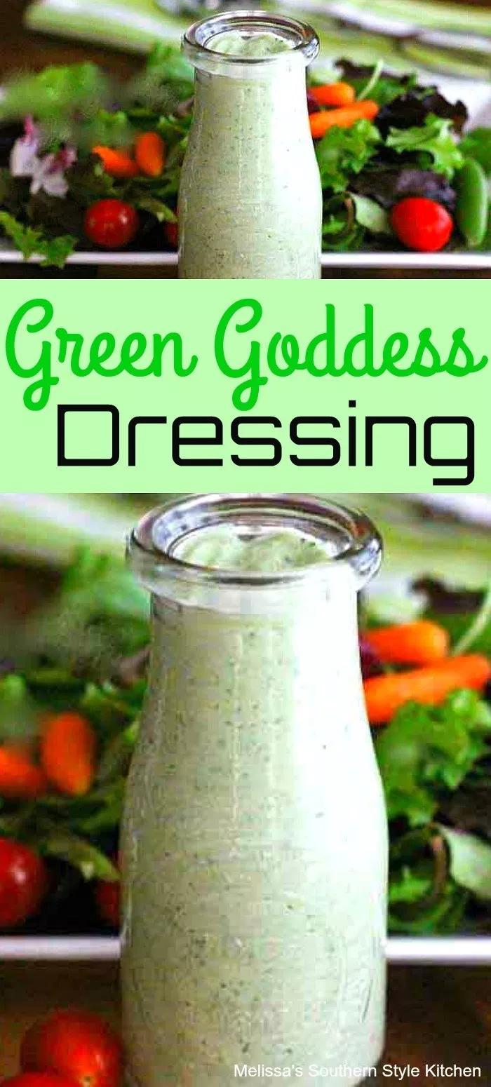 Green Goddess Dressing Greengoddess Dressing Saladdressing Homemade Saladdressingrecipes Rec Green Goddess Dressing Goddess Dressing Recipe Green Goddess [ 1550 x 700 Pixel ]